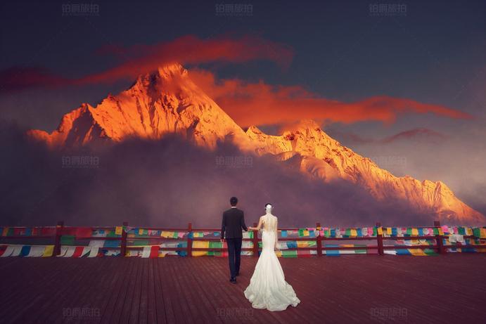 拍夜景婚纱照要注意什么 巴黎婚纱摄影介绍
