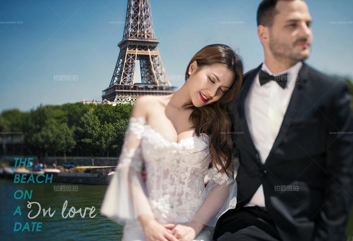 巴黎婚纱摄影技巧介绍 如何运用宠物道具?