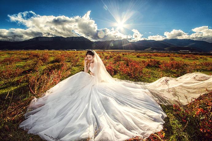 如何从婚纱判断摄影机构是否为真实客照