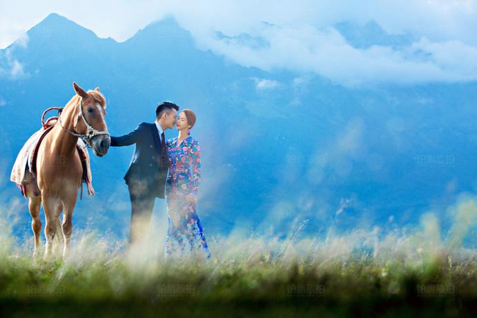 短发新娘拍婚纱照攻略 深圳婚纱摄影
