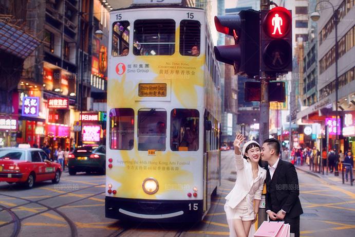 在城市拍婚纱照哪里可以取景?深圳婚纱摄影