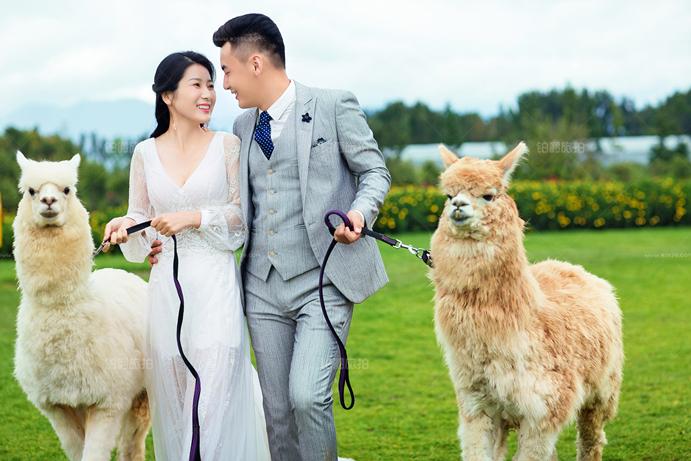 铂爵旅拍之大理婚纱照