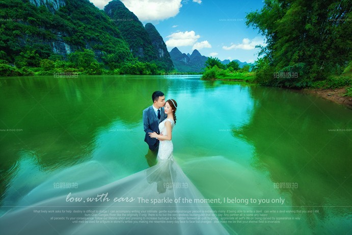 将幸福定格在桂林婚纱照