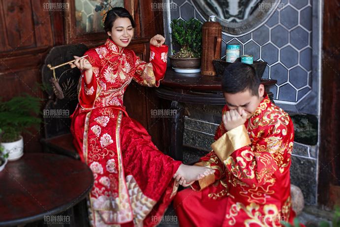 中式婚纱照风格拍摄攻略介绍