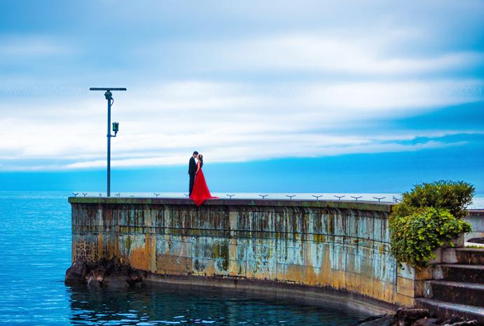 春夏季节拍婚纱照要注意什么?杭州婚纱摄影攻略