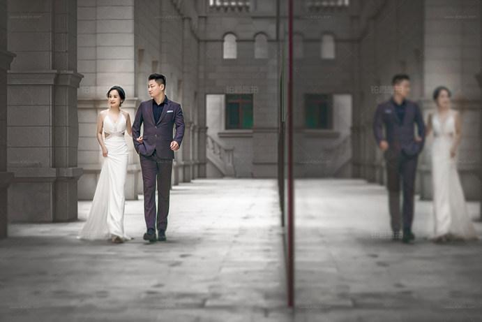 大连铂爵旅拍婚纱照日志