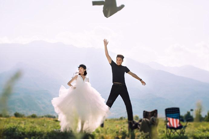 大理婚纱摄影哪家好看看我们的婚纱照就知道啦