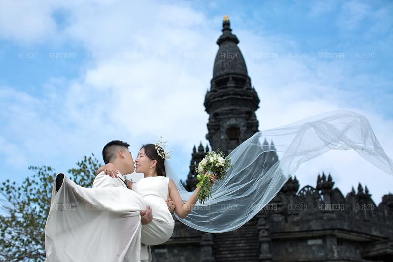 巴厘岛婚纱照拍摄的绝好体验
