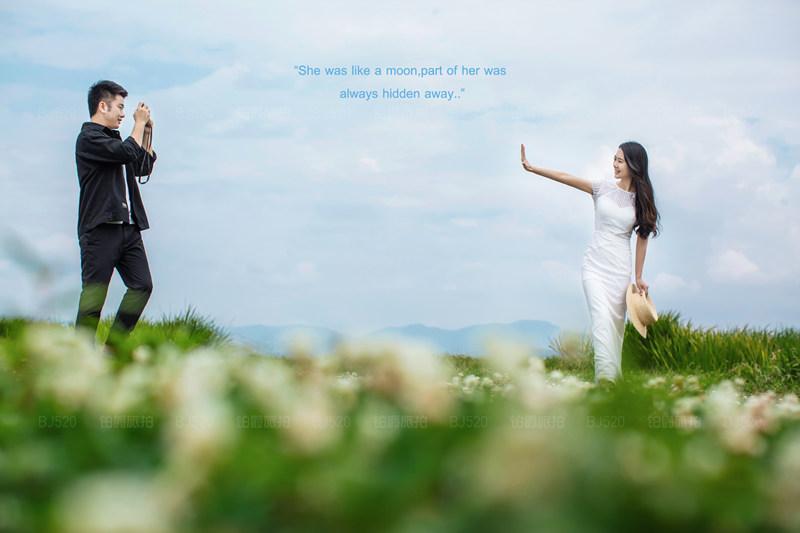 铂爵旅拍大理婚纱照的唯美体验