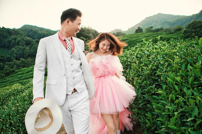 铂爵旅拍桂林婚纱照 一次叫我们惊喜的婚纱照拍摄体验