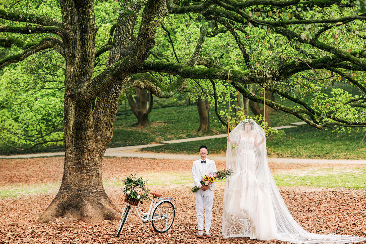 杭州婚纱摄影去哪里拍比较好?