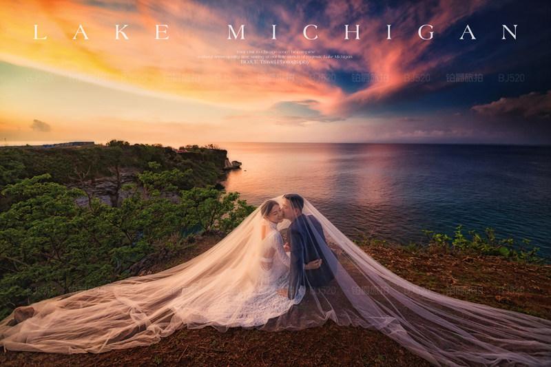 巴厘岛婚纱摄影的浪漫体验
