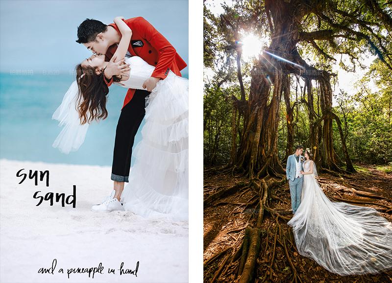 巴厘岛旅拍婚纱摄影的精彩体验