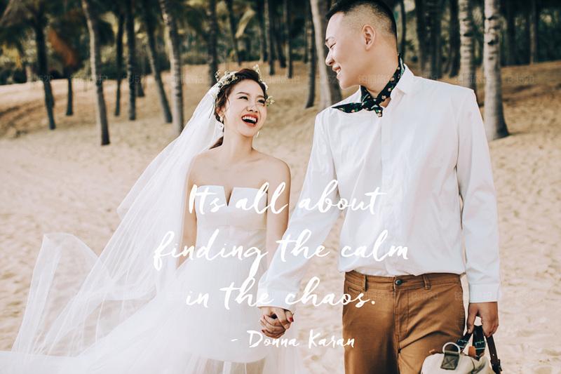 三亚婚纱摄影的美好的拍摄体验