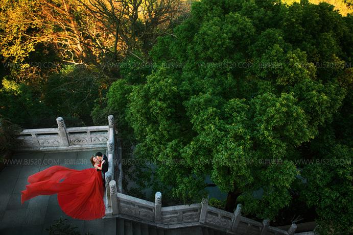 中式婚纱照有哪些风格?