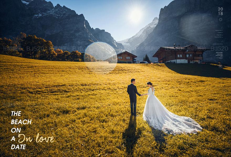 男女拍婚纱照互动姿势介绍 婚纱服装选择