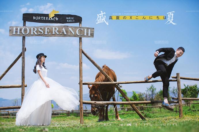 外景婚纱照怎么拍 西安婚纱摄影攻略
