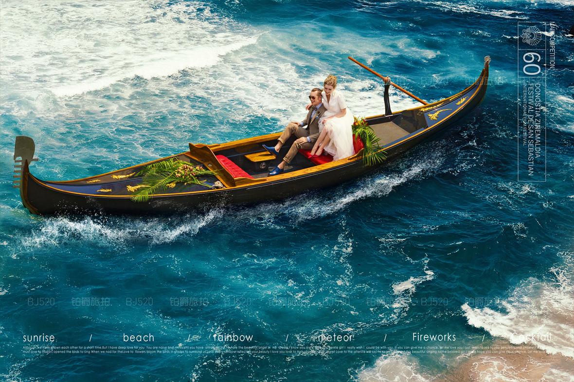 大连拍婚纱照攻略介绍 海景婚纱照图片欣赏