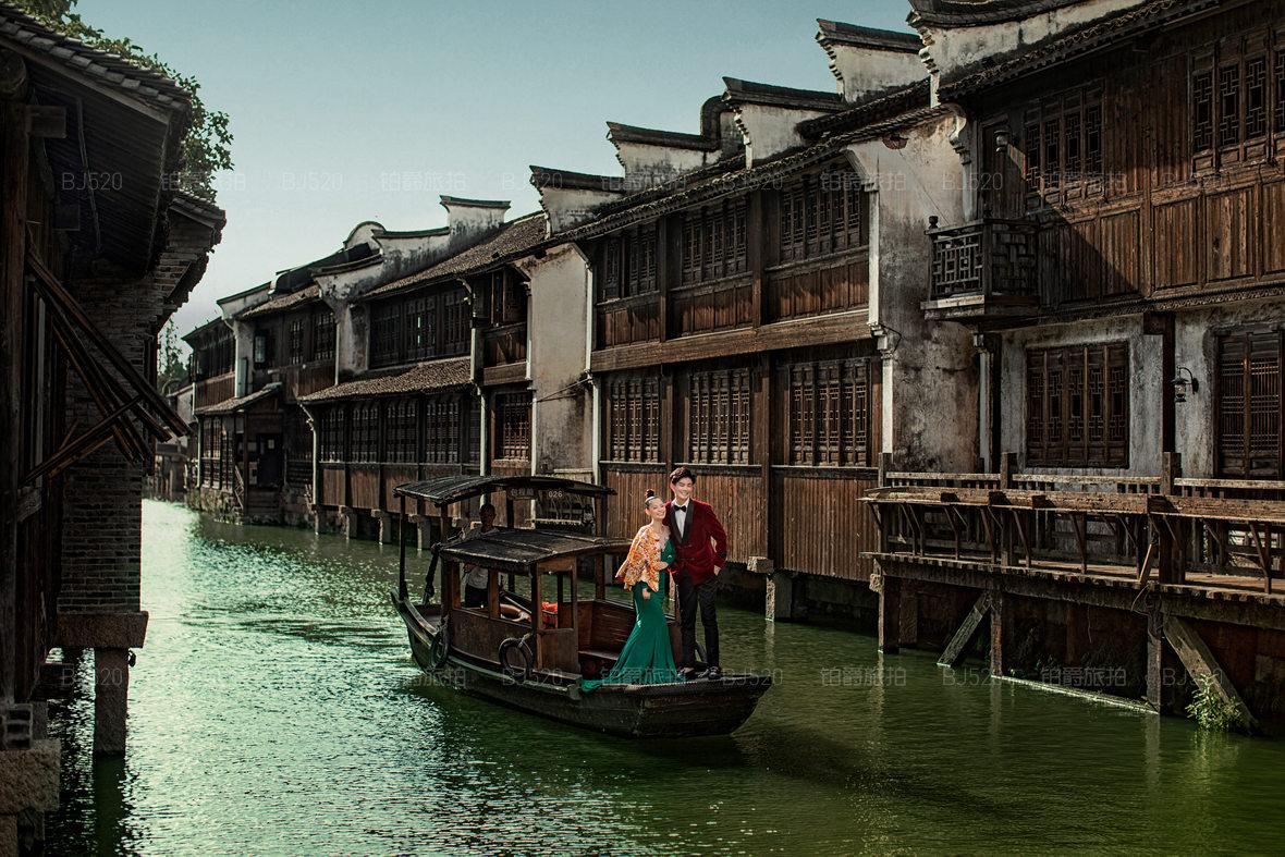 杭州西湖旅拍婚纱照图片欣赏