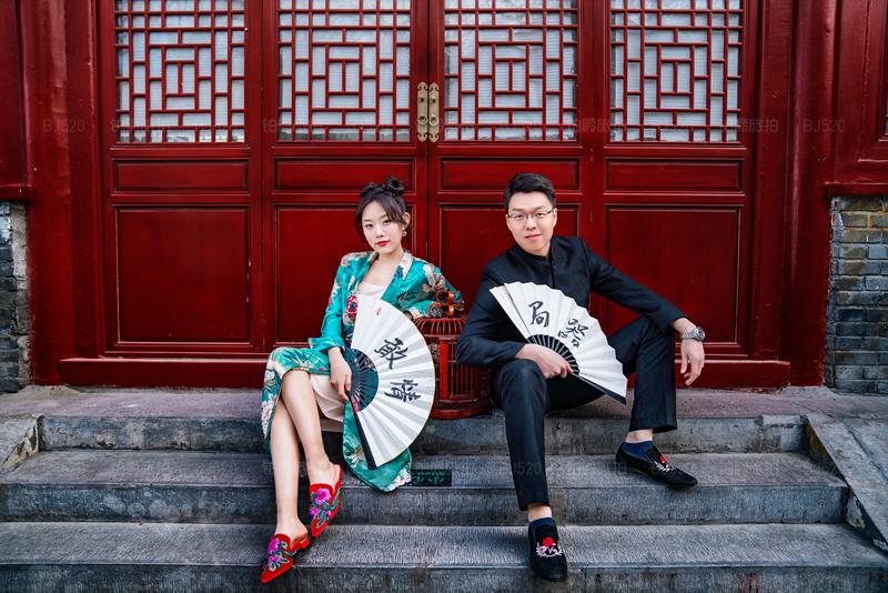 北京旅拍婚纱照 定格最美的画面