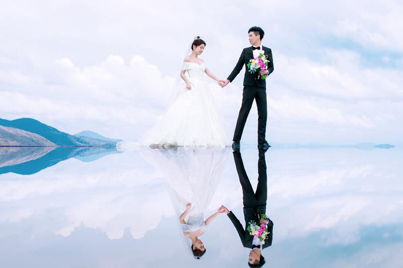 三亚旅拍婚纱照 一生一次最美的纪念