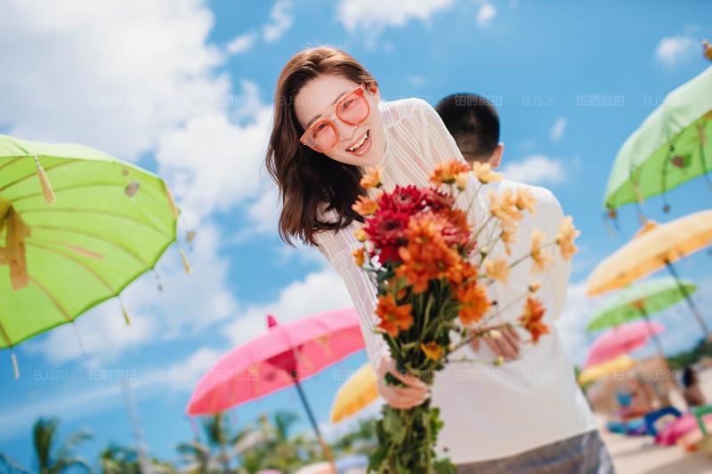 记录巴厘岛旅拍婚纱照的美好