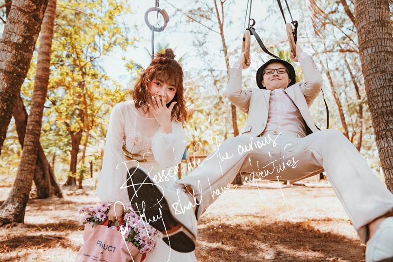 普吉岛旅拍婚纱照的美好回忆