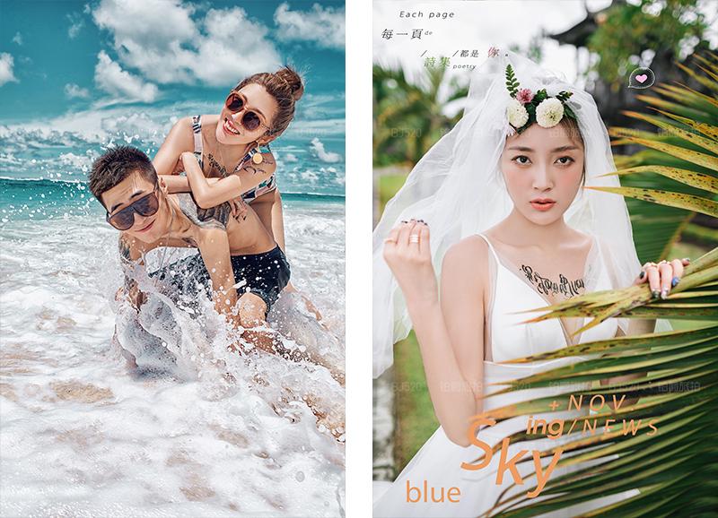 巴厘岛旅拍婚纱照浪漫体验