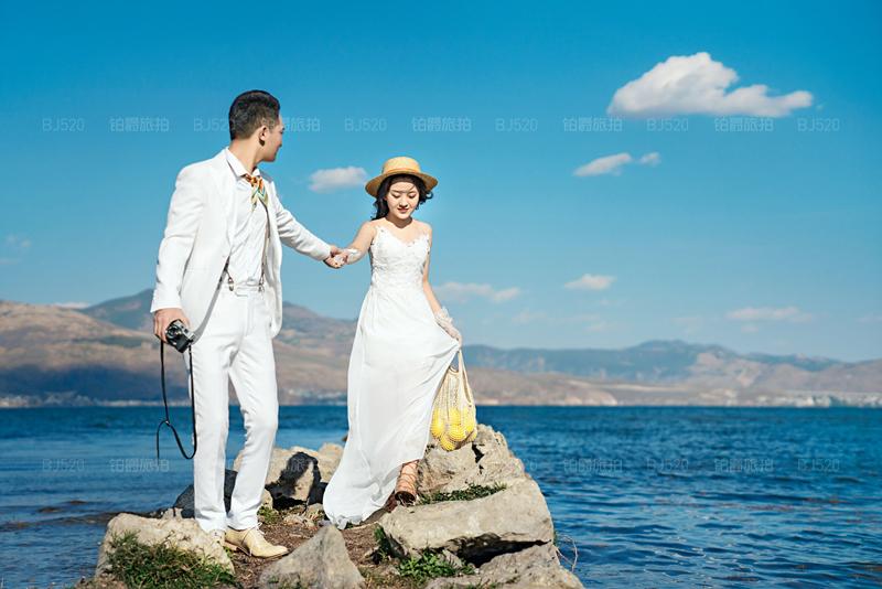 铂爵旅拍带我们在大理留下最美的婚纱照纪念