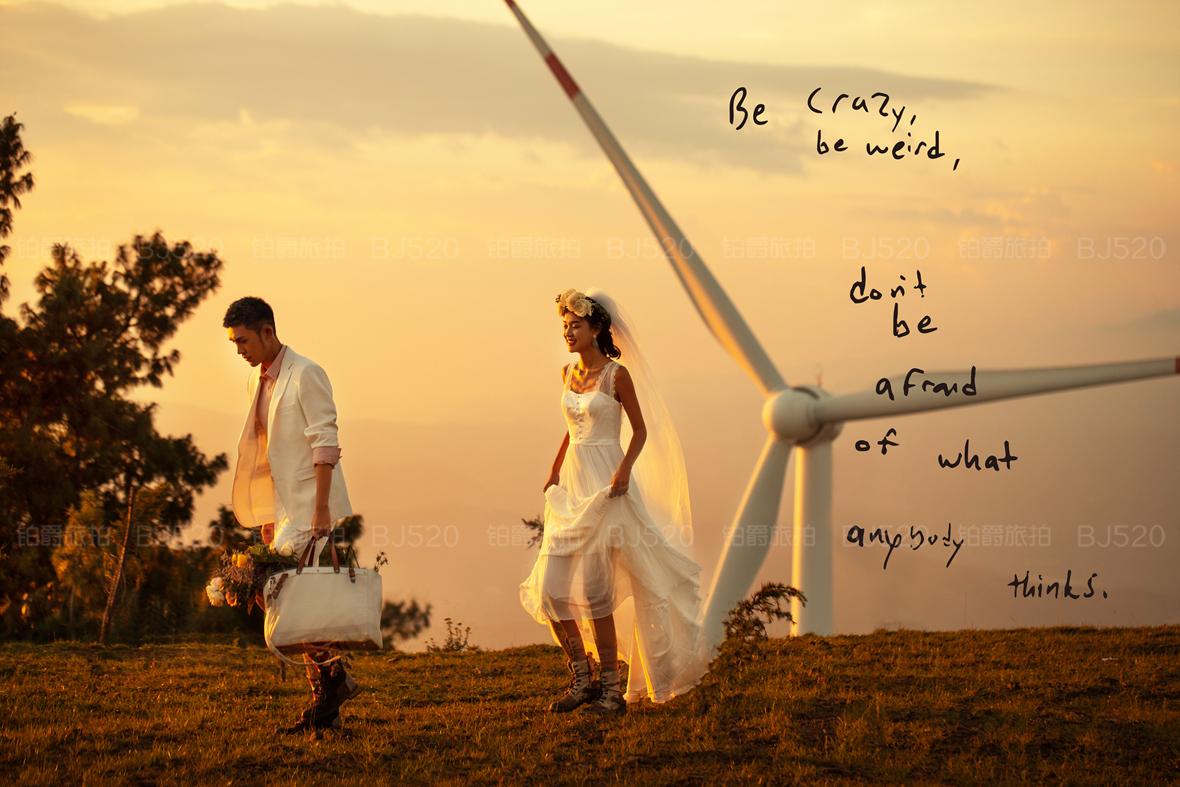 中式婚纱写真价格要多少?一般拍婚纱照要几天