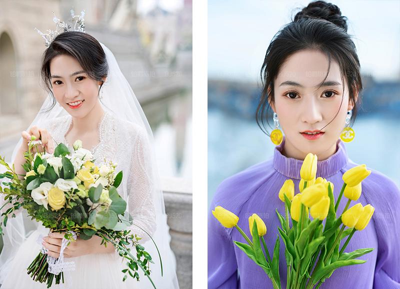 铂爵旅拍大连婚纱照 浪漫温馨的婚纱摄影之旅