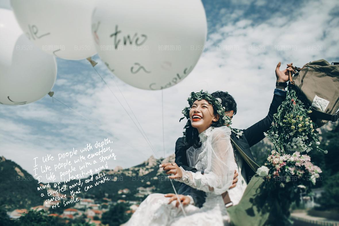 青岛婚纱摄影工作室哪家好?拍婚纱照是选择工作室好还是影楼好?