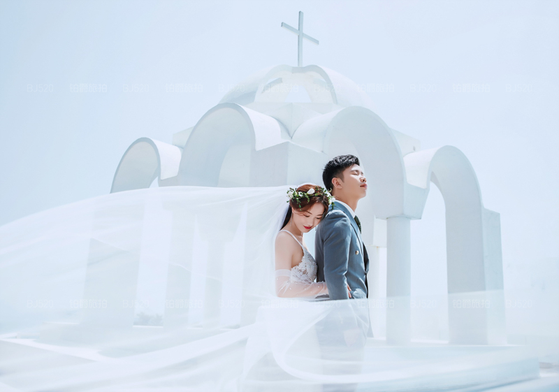大连旅拍婚纱照的奇妙体验