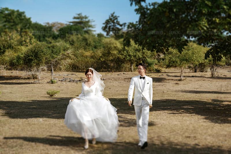 巴厘岛旅拍婚纱照的浪漫回忆