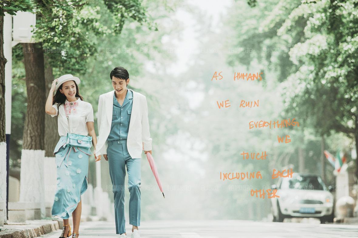青岛婚纱照拍摄基地 青岛旅拍婚纱照最适合的景点