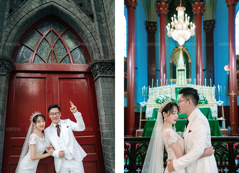 铂爵旅拍婚纱照 在北京留下我们爱情的美好记号