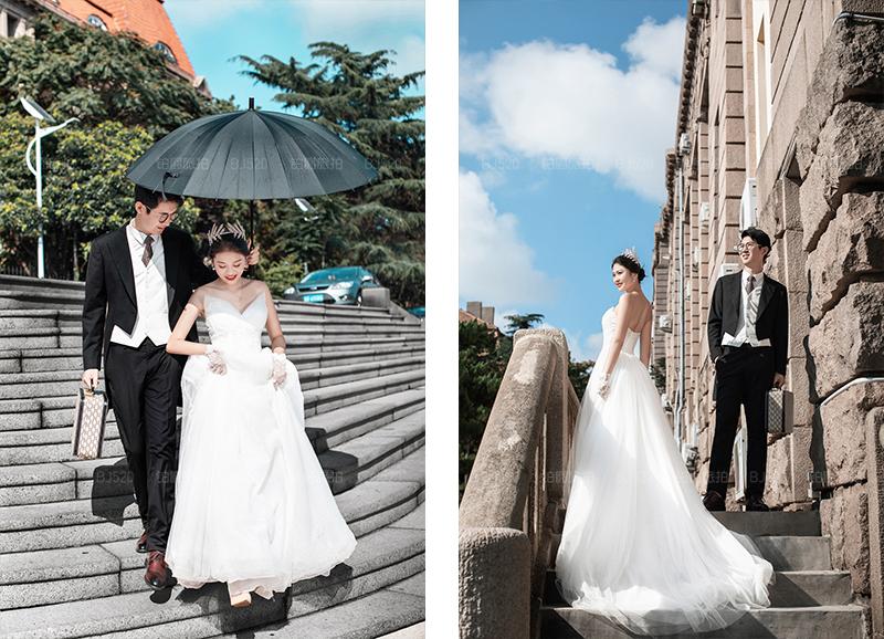 铂爵旅拍青岛婚纱照 记录爱的旅行