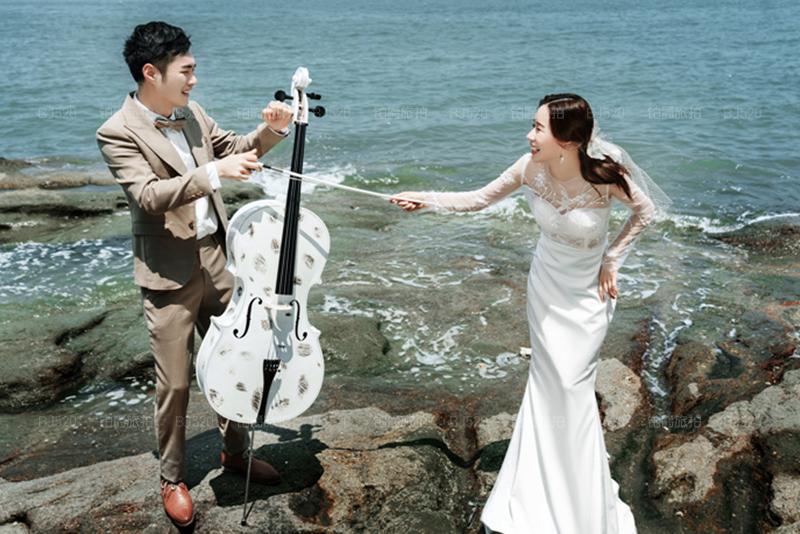 铂爵旅拍婚纱照 记录在厦门旅拍的美好