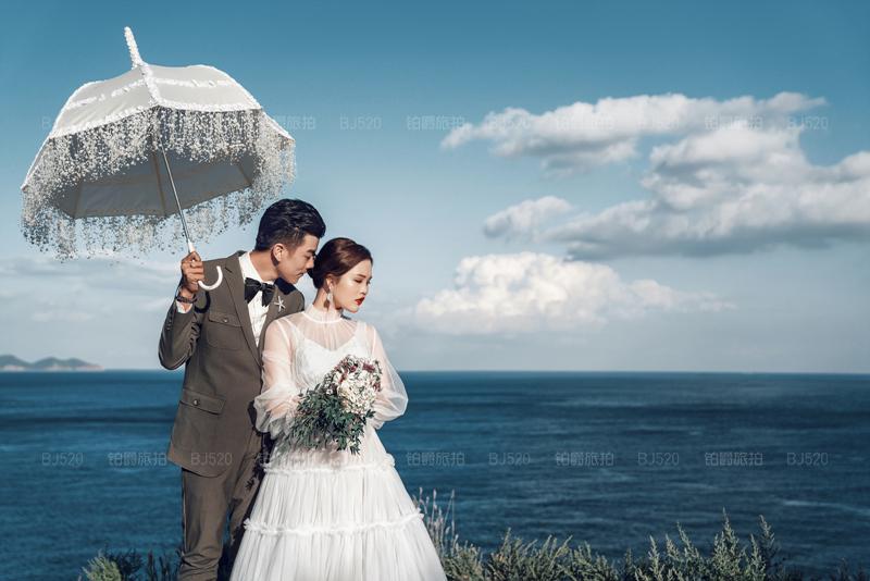 铂爵旅拍婚纱照 记录在大连的浪漫旅程