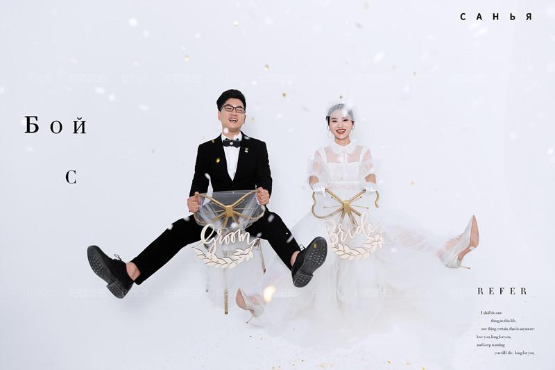 铂爵旅拍婚纱照 三亚蜜月婚纱摄影之旅