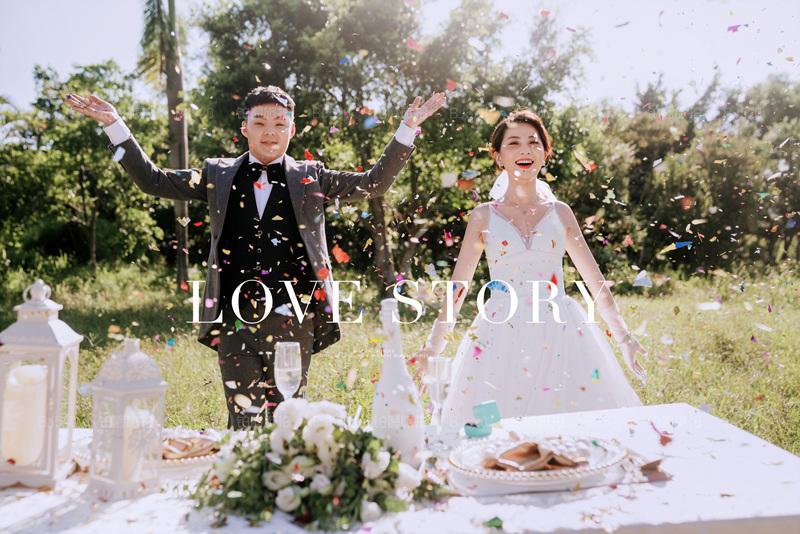 铂爵旅拍婚纱照 记录在深圳的蜜月之旅