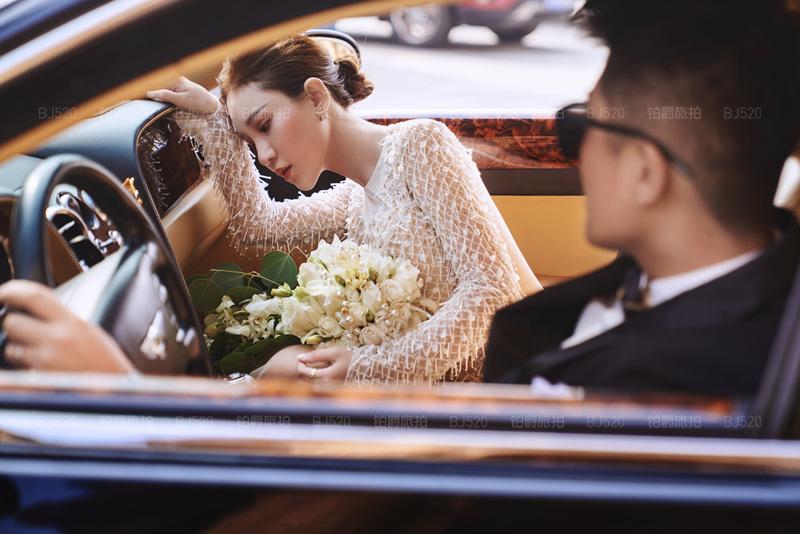 铂爵旅拍婚纱照 记录在大连的拍摄点滴