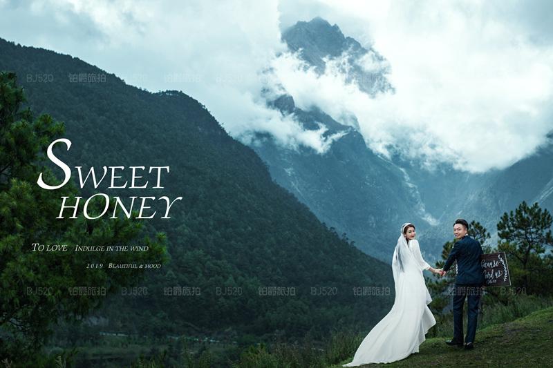 铂爵旅拍婚纱摄影 记录在丽江的旅程
