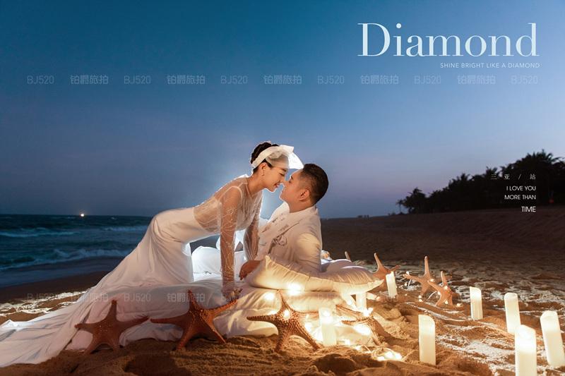 三亚旅拍婚纱照 感谢铂爵旅拍带我们发现不一样的美