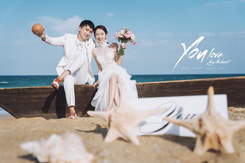 铂爵旅拍婚纱摄影 记录在三亚的浪漫旅程
