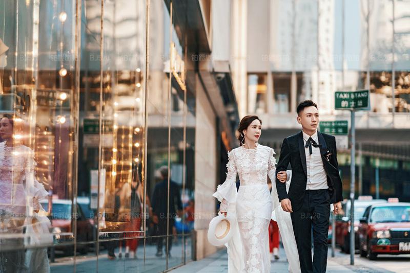 香港蜜月旅拍婚纱照的奇妙旅程