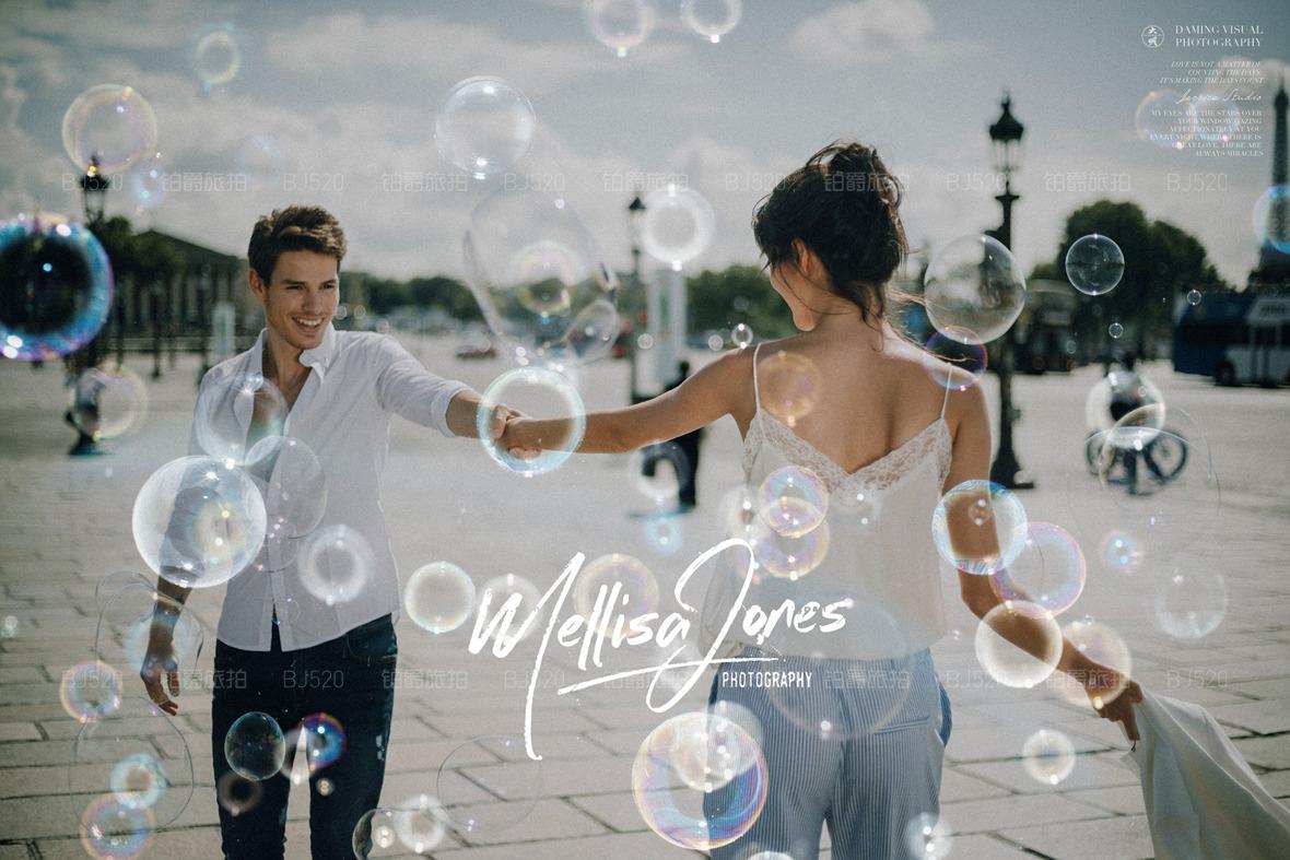 巴黎婚纱摄影大概多少钱 都有哪些套系