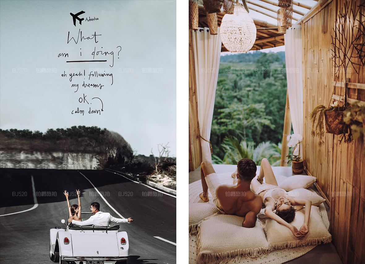 选择巴厘岛旅拍婚纱的理由,介绍4种旅拍模式