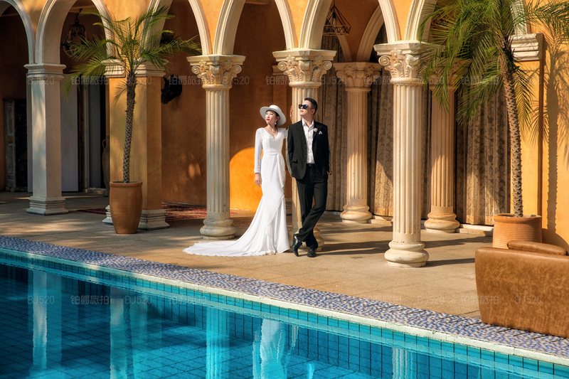 铂爵旅拍香格里拉婚纱照的浪漫体验