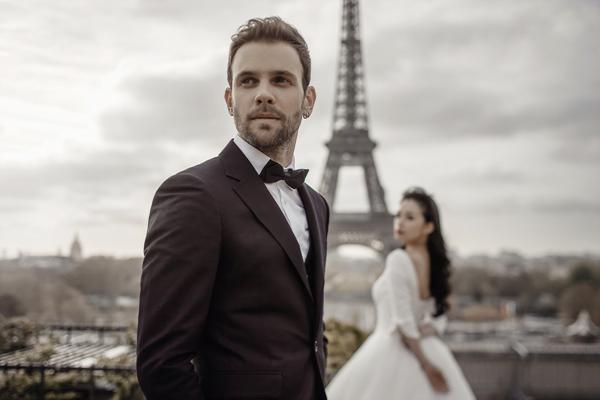巴黎婚纱照